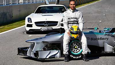 Lewis Hamilton Piloto-de-Fórmula 1