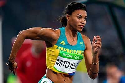 Morgan Mitchel Sprinter