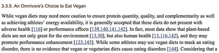 opción comer vegano